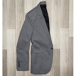 Blazer Slim Fit Gris