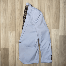 Blazer Slim Fit Celeste