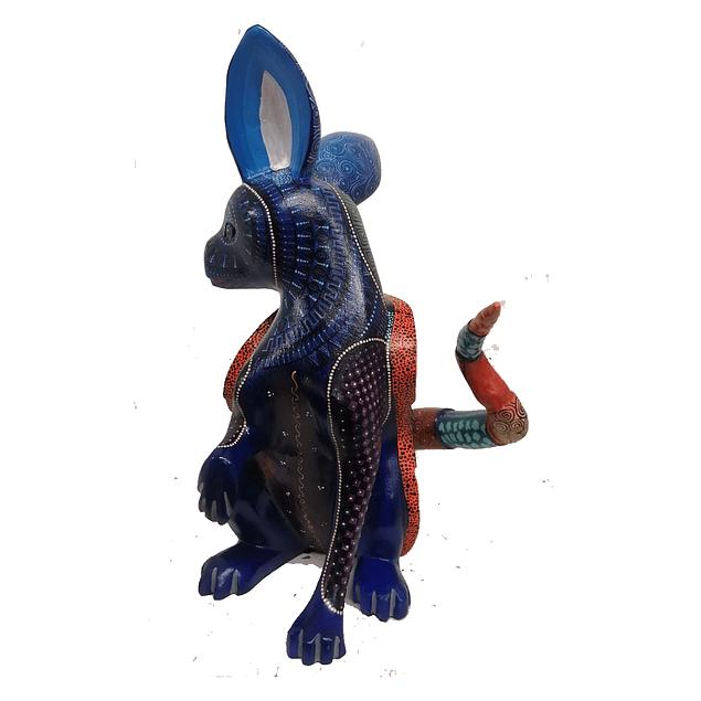 Alebrije - fusión conejo y armadillo