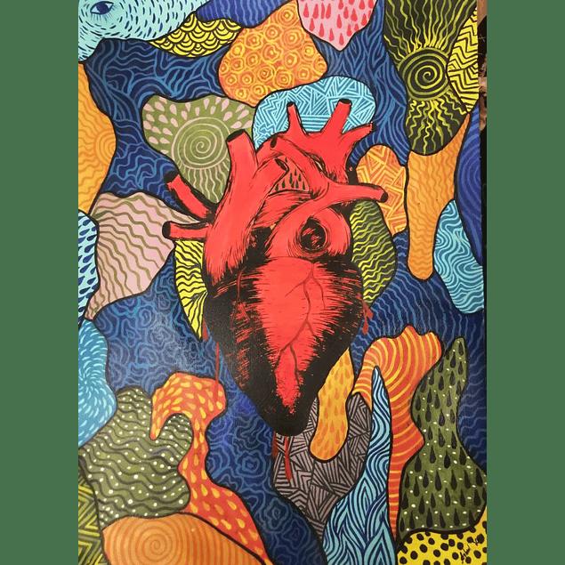 Cuadro - Corazón - Matlacihua Arte