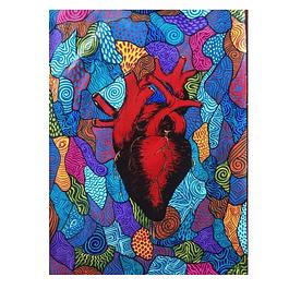 Cuadro: Toyolotl (nuestro corazón)