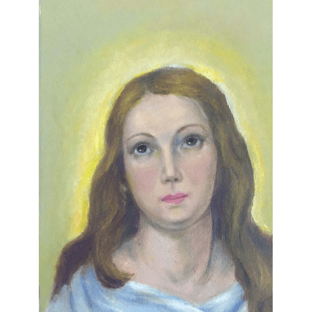 """Cuadro Virgen """"La inmaculada"""" - Pastel"""