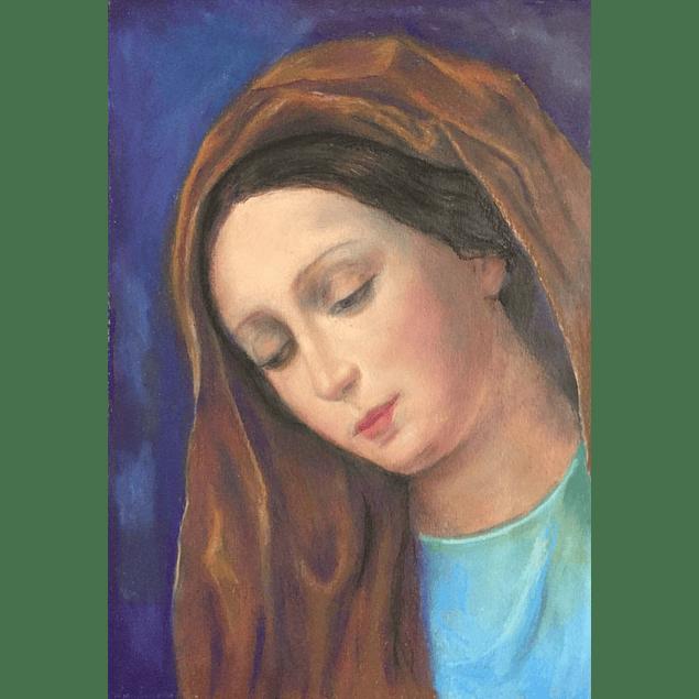 "Cuadro Virgen ""Madre Amada"""