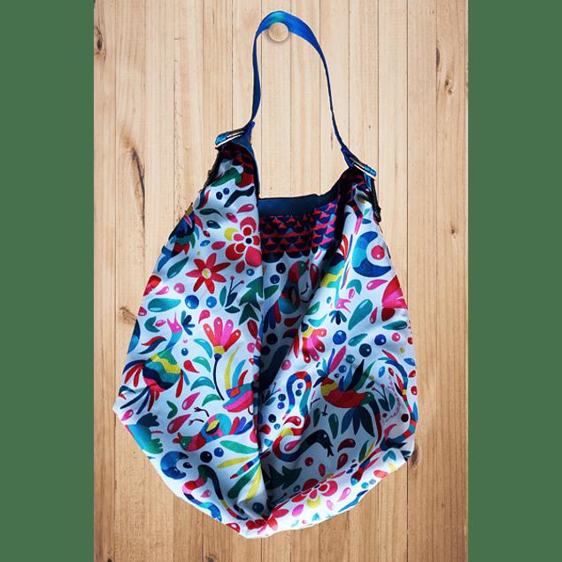Bolsa de tela  con diseño Mexicano