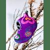Esfera calavera morada