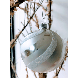 Esfera caramelo blanca