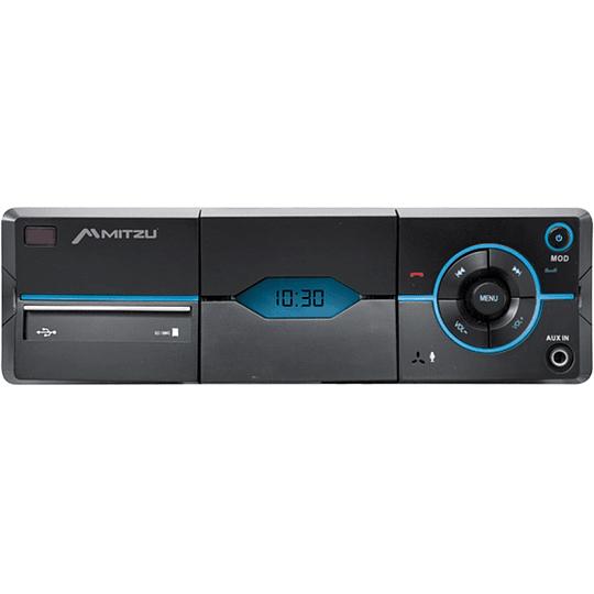 Autoestéreo digital FM con soporte para celular, Bluetooth® y manos libres MCS-9976
