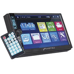 """Autoestéreo digital FM con pantalla táctil de 7"""", Bluetooth® y manos libres MCS-9985"""