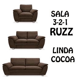 SALA 3-2-1 COLOR CHOCOLATE RUZZ
