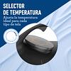 PLANCHA GRIS DE VAPOR OSTER CON SUELA CERAMICA GCSTAC6901