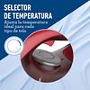 PLANCHA ROJA DE VAPOR OSTER CON SUELA CERAMICA GCSTBS6051