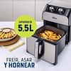 FREIDORA DE AIRE MANUAL OSTER® DE 5.5 LT CKSTAF55