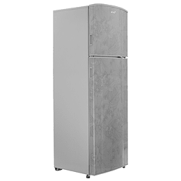 REFRIGERADOR 9p3 DECORADO FLORAL PLATA AT091FG
