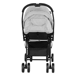 COCHE PASEO GRIS/LIVIANO BABY WAY BW-208