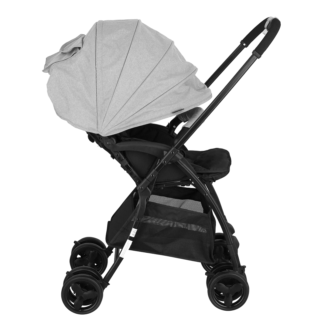 COCHE PASEO GRIS/LIVIANO BW-208G19 BABY WAY