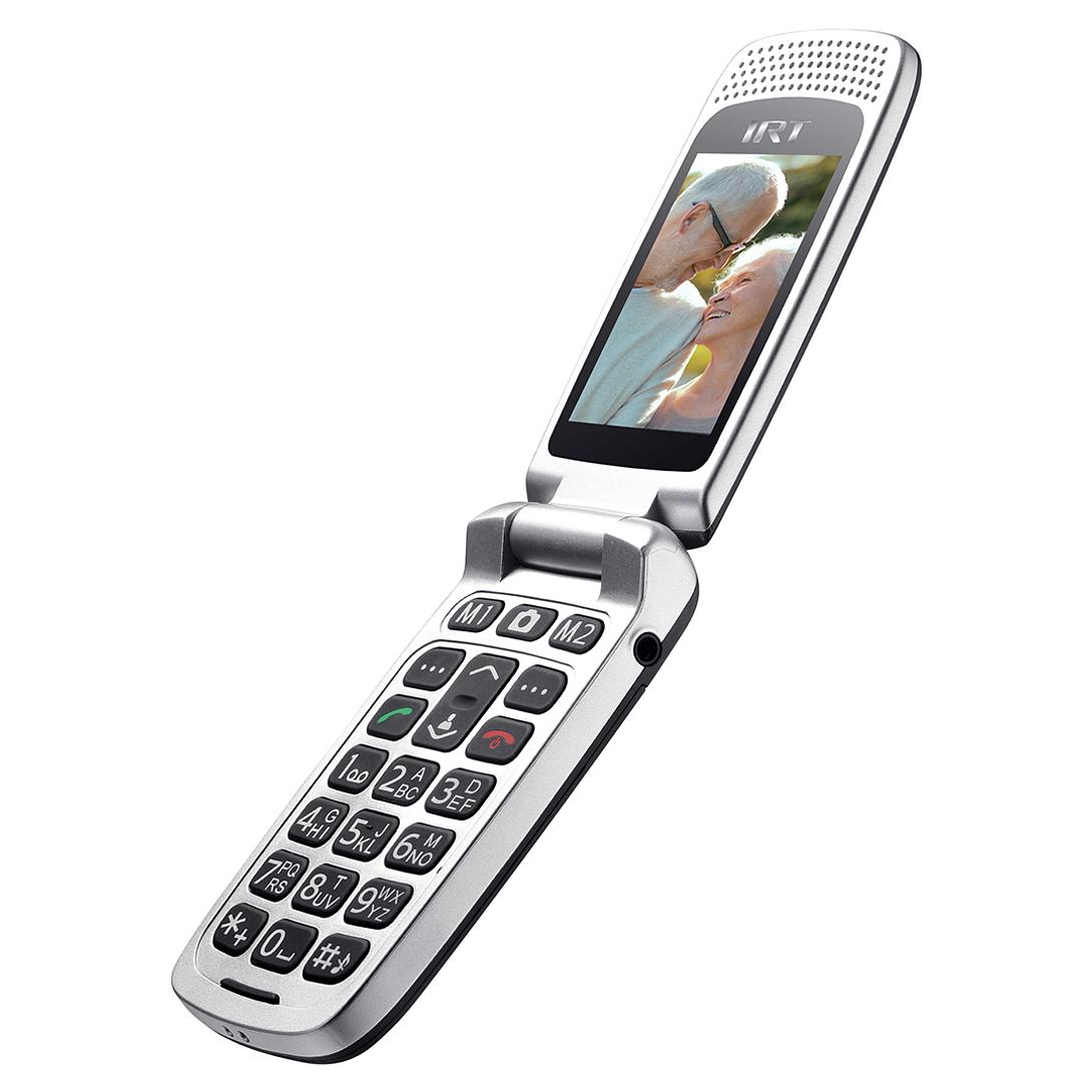 TELEFONO MOVIL SENIOR 3G NEGRO