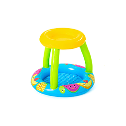 PISCINA INFLABLE BEBE C/TECHO