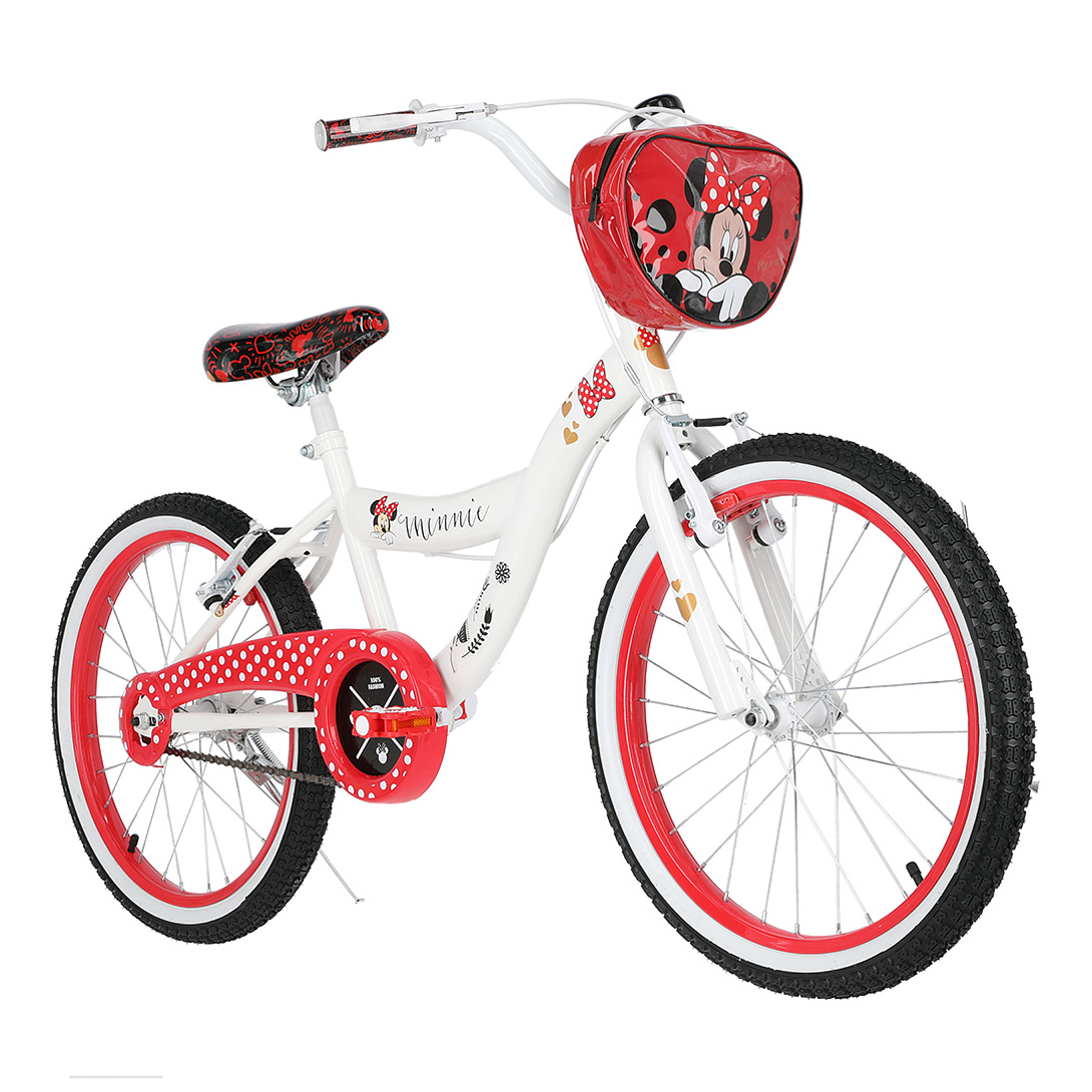 BICICLETA ARO 20 MINNIE BLANCO LAHSEN IN2000A19BBL01