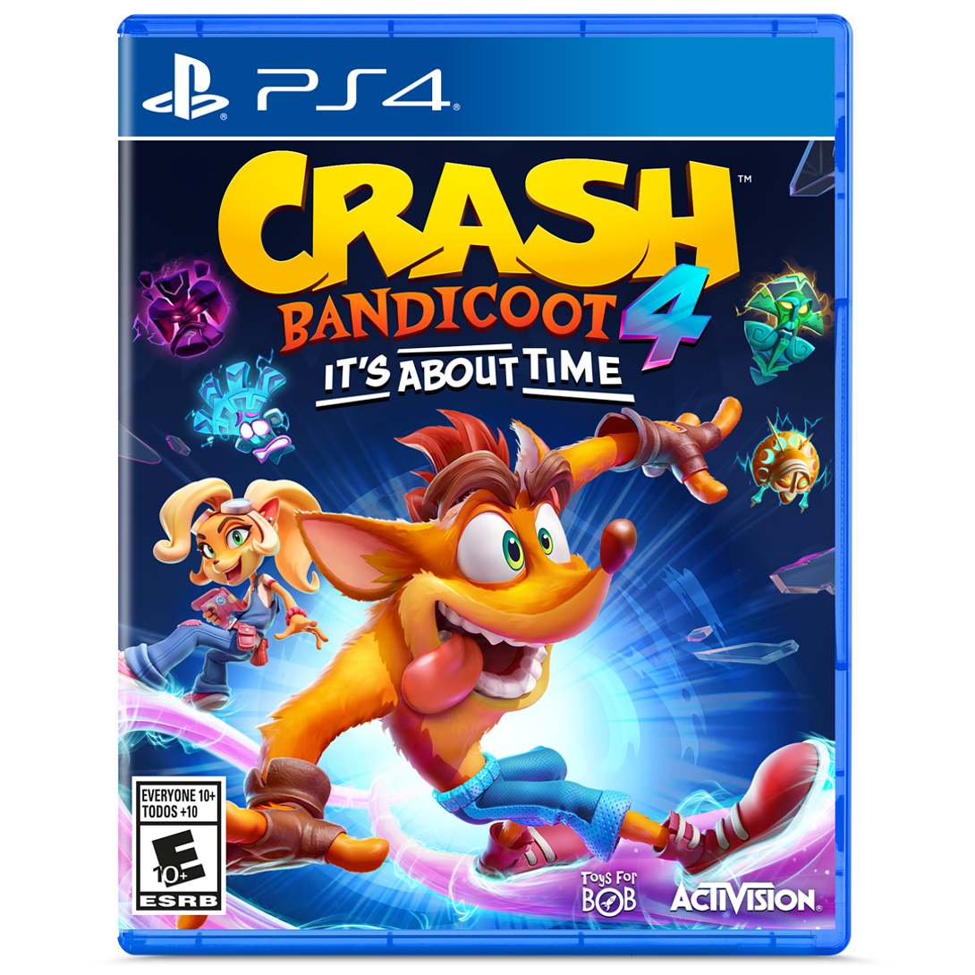 JUEGO PS4 CRASH BANDICOOT 4 ITS ABOUT TIME SONY