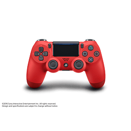 CONTROL DUALSHOCK 4 PS4 SONY MAGMA RED