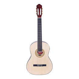 "GUITARRA CLASICA 39"" CUERDA NYLON C/ALMA NATURAL 030KIT0200"
