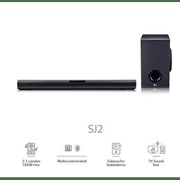 SOUNDBAR + HTS SPEAKER OSS LG SJ2.DCHLLLK
