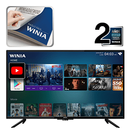 """TELEVISOR LED 43"""" SMART TV FULL HD WINIA L43V750BAS"""