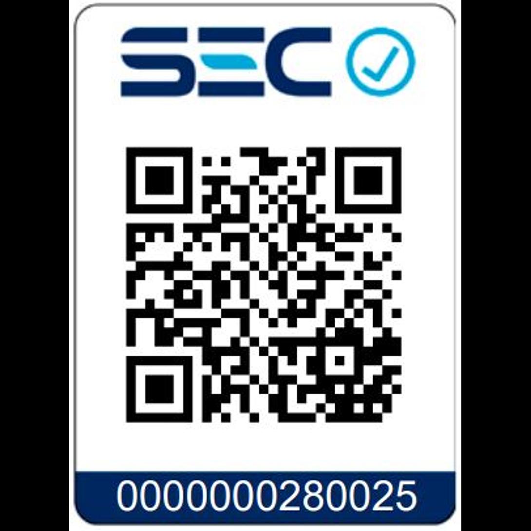 CALEFACTOR ELECTRICO FIBRA DE CARBONO 800W EEC-3000NG SINDELEN
