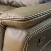 SOFA 2 CUERPOS RECLINABLE CAFE LEWIS M&H