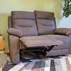 SOFA 2 CUERPOS RECLINABLE CAFE YB901 M&H