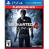 JUEGO PS4 UNCHARTED 4  SONY