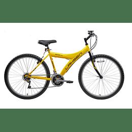 BICICLETA MTB ARO 26 ROCKET AMARILLO 00MT26H2021AM01 LAHSEN