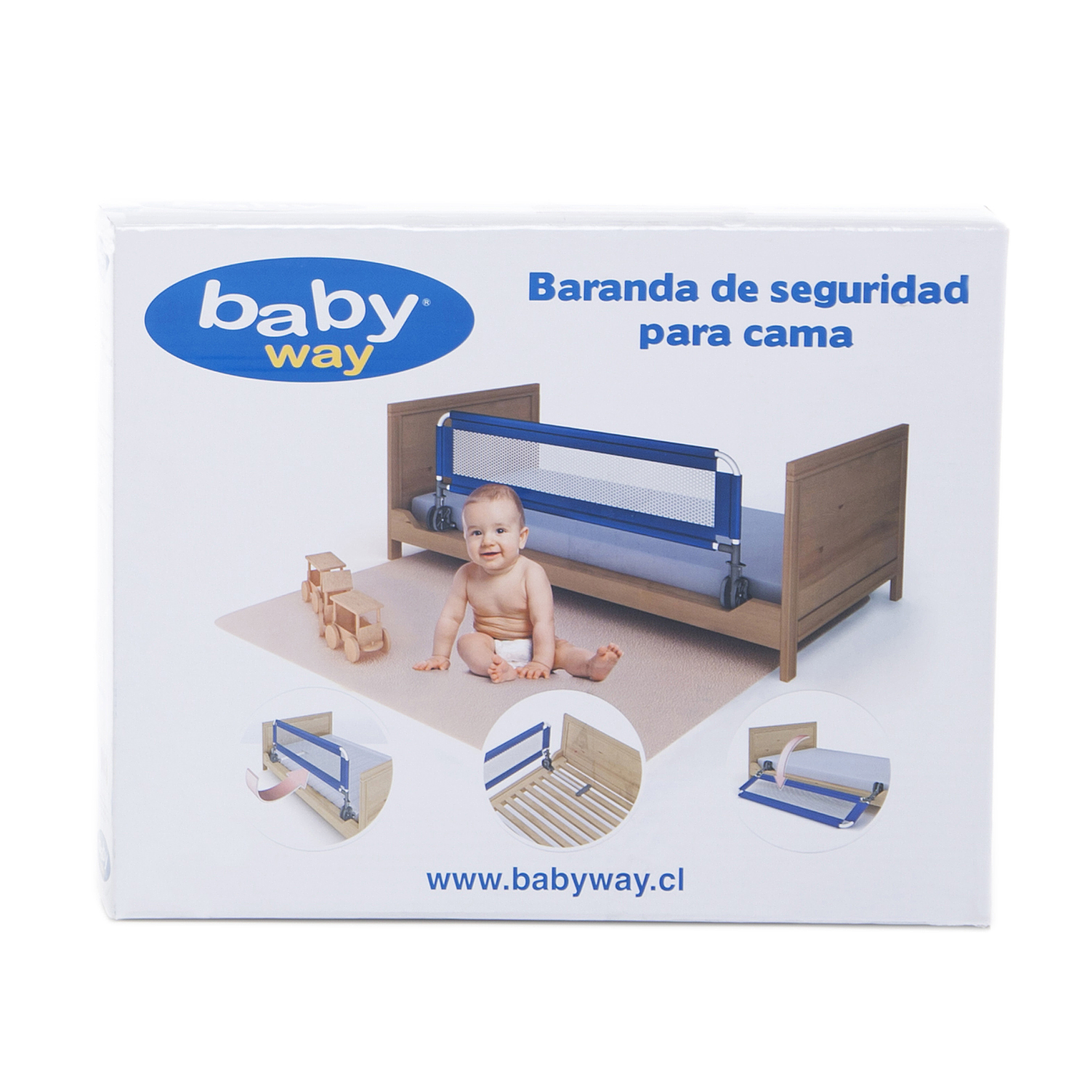 BARANDA SEGURIDAD AZUL BW-BRB17 BABY WAY