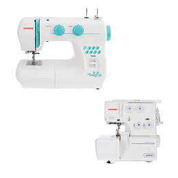PACK MAQUINA COSER 3008/8002D JANOME