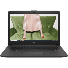 "NOTEBOOK HP 240G7 CELERON N4020 4GB/500GB 14"" HD W10H 1D0F5LT#ABM"