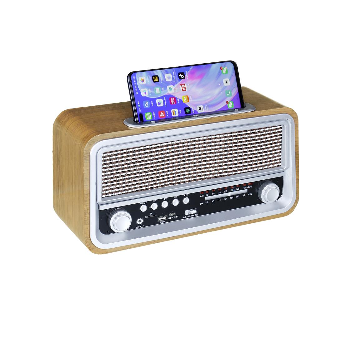 RADIO RETRO INALAMBRICO I005BTRETRO07 IRT