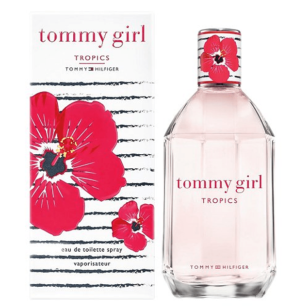 TOMMY GIRL TROPICS EDT 100 ML - TOMMY HILFIGER
