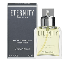 ETERNITY FOR MEN EDT 50 ML - CALVIN KLEIN