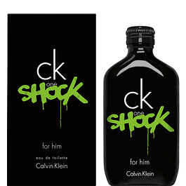 CK ONE SHOCK HIM EDT 100 ML - CALVIN KLEIN