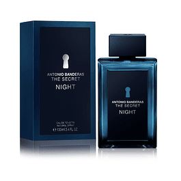 THE SECRET NIGHT EDT 100 ML - ANTONIO BANDERAS