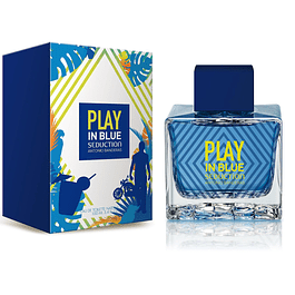 PLAY IN SEDUCTION MEN EDT 100 ML - ANTONIO BANDERAS