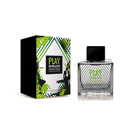 PLAY IN BLACK SEDUCTION MEN EDT 100 ML - ANTONIO BANDERAS