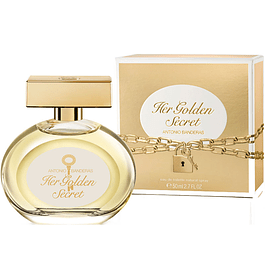 HER GOLDEN SECRET EDT 50 ML - ANTONIO BANDERAS