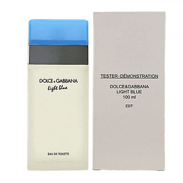 LIGHT BLUE WOMEN EDT 100 ML TESTER (PROBADOR) - DOLCE & GABBANA