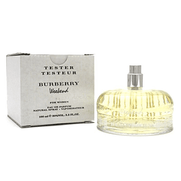 WEEKEND EDP 100 ML TESTER (PROBADOR) - BURBERRY