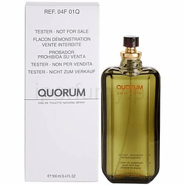 QUORUM EDT 100 ML TESTER (PROBADOR) - PUIG