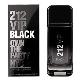 212 VIP BLACK MEN EDP 200 ML - CAROLINA HERRERA
