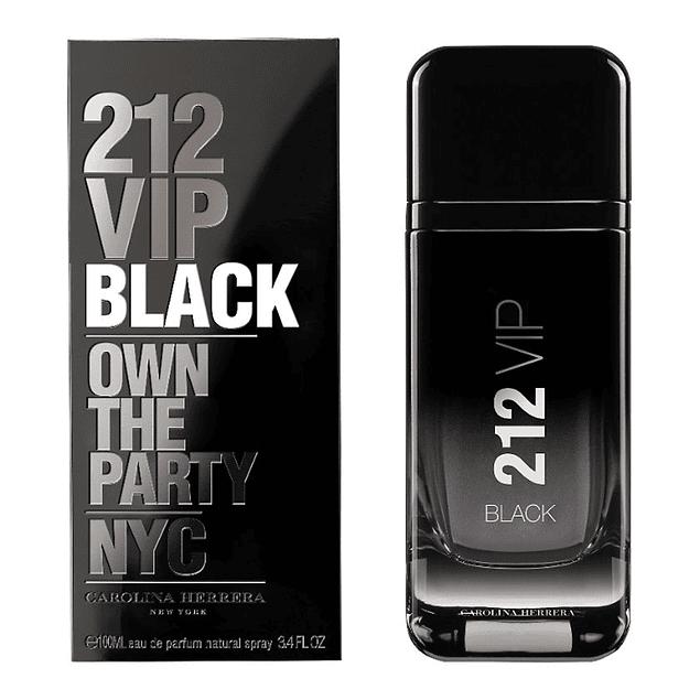 212 VIP BLACK MEN EDP 200 ML - CAROLINA HERRERA