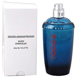 DARK  BLUE EDT 125 ML TESTER (PROBADOR) SIN TAPA - HUGO BOSS