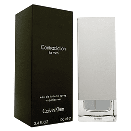 CONTRADICTION MEN EDT 100 ML - CALVIN KLEIN